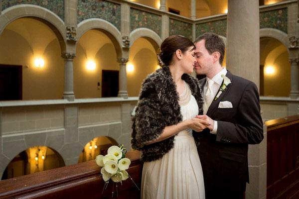 Hochzeitsfoto im Stadthaus Zürich