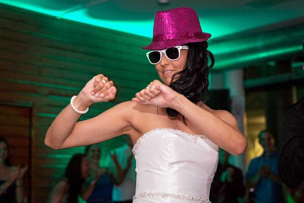 Die Braut beim Tanz