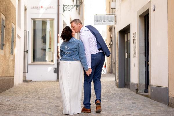 Frisch verliebt in der Altstadt