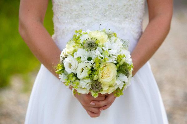 Ein wunderschöner Brautstrauss