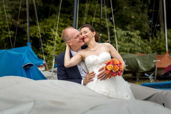 Hochzeitsfoto am Greifensee