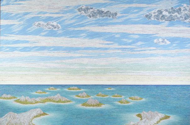 The Himalayas, 300 x 450 cm, 2007