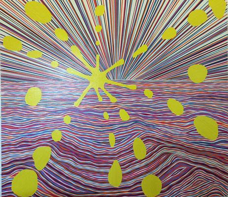 Ozonzonen, 151 x 171 cm, 2016
