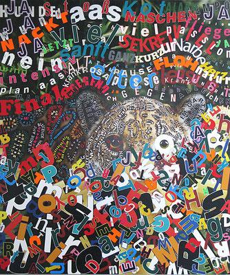 Plan Aas, 205 x 175 cm, 2010