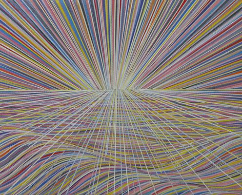 1 2 3 Malerei (3), 40 x 50 cm, 2014