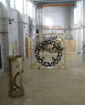 Installation view,  Amen The B-Men, Galerie Next, Dresden, 2012