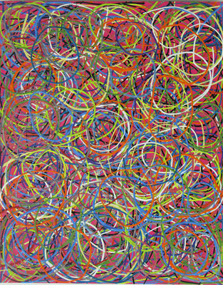 Artificial Tumbleweed 1,  51 x 41 cm, 2014