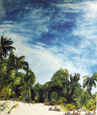 Kunst im öffentlichen Traum, 205 x 175 cm, 2014