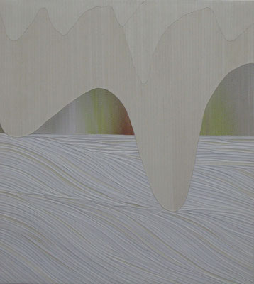 Der potente Künstler, 56,5 x 50,5 cm, 2015