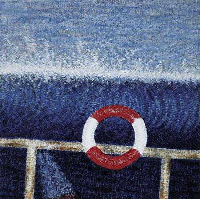 Down Under, 100 x 100 cm, 2002