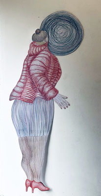 Looking For Love 170 x 80 x 4 cm, (kinetic)