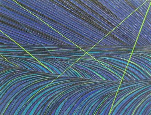 Aufstand der Algen, 40 x 30 cm, 2014