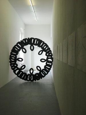 Installation View, Tourette, Galerie Jette Rudolph, 2011