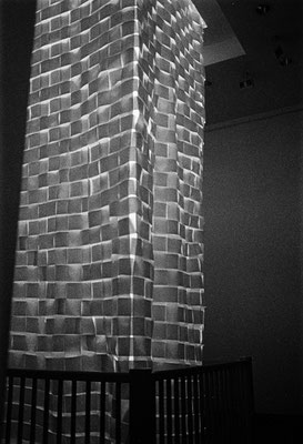 Lighttower, 17 x 2 x 2 m, Frankfurt/M, 1992