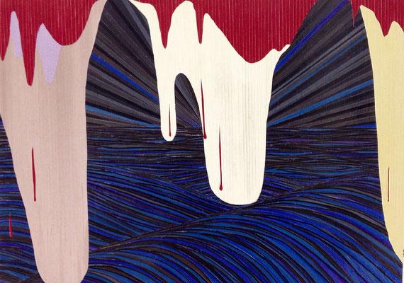 Mann und Maus, 50 x 71 cm, 2014/17