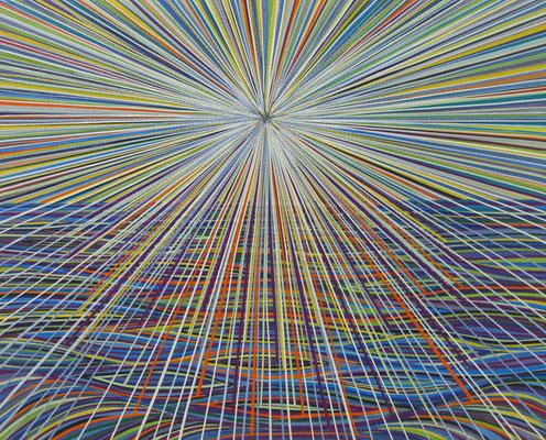 1 2 3 Malerei (2), 40 x 50 cm, 2014