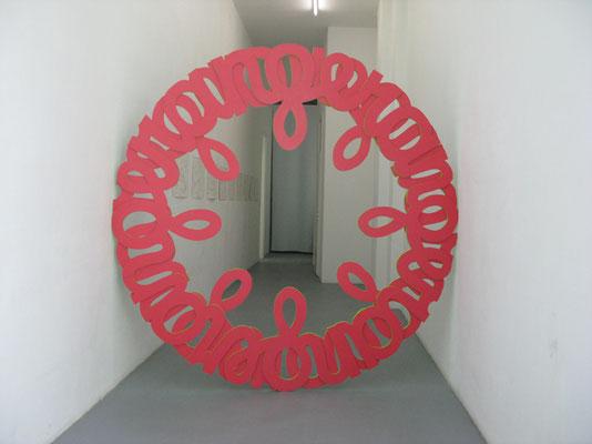 Installation View, Tourette, Galerie Jette Rudolph, Berlin, 2011