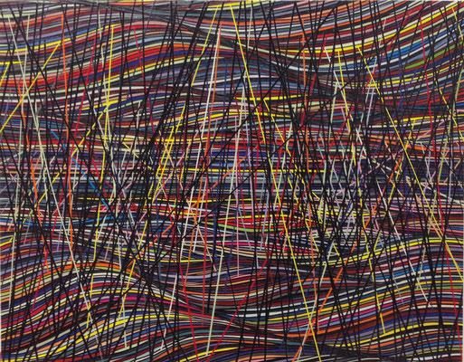 Architektur der Natur, 91 x 71 cm, 2016