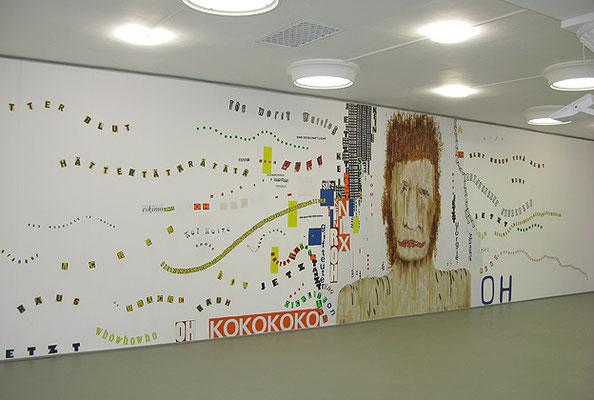 Installation View: Art & Vomit, Galerie Zanderkasten, Dresden, 2010