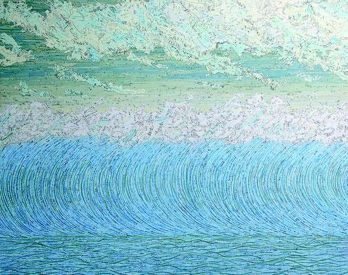 Multiple O, 120 x 150 cm, 2005