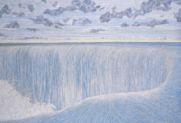 Down Down Down, 205 x 300 cm, 2005