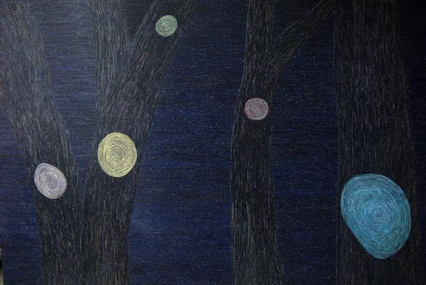 Kleine Nachtmusik, 205 x 300 cm, 2005/09