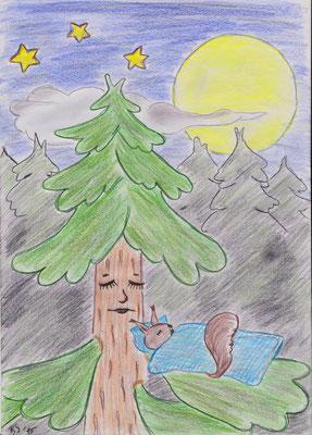 Nachtlied des Waldes