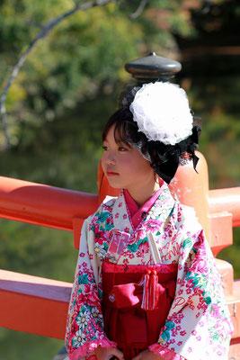 7歳七五三袴スタイル