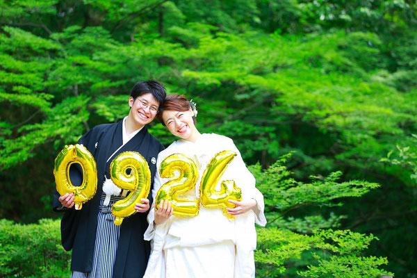 山梨 和装前撮り 結婚写真 フォトウェディング 写真館 フォトスタジオ 写真スタジオ