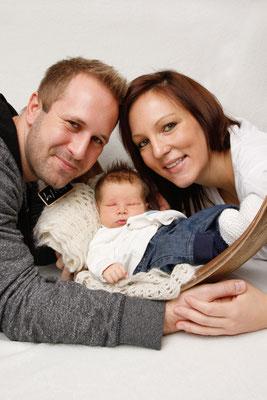 Babyfotografie, Fotoshooting zu Hause, Sempach