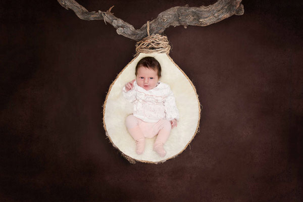 Baby Fotoshooting - Homeshooting Basel Land