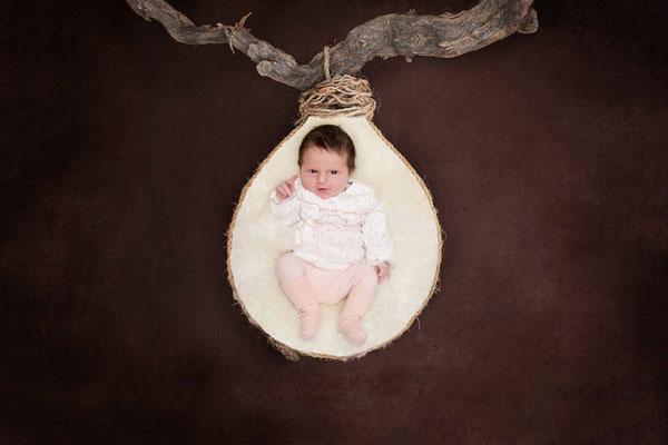 Baby Fotoshooting - Homeshooting Basel Land