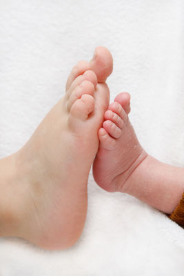 Babyfotoshooting- Fuss an Fuss - Lenzburg