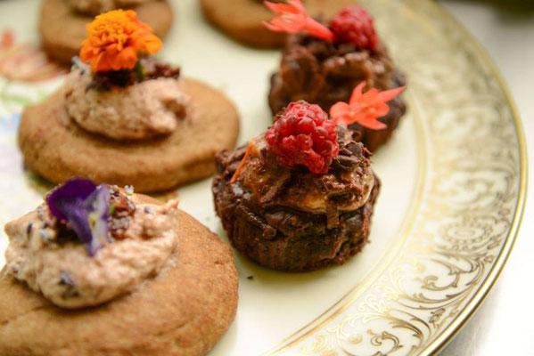 Veganes 10 Gänge Catering mit High Tea auf Schloss Heinrichshorst 6