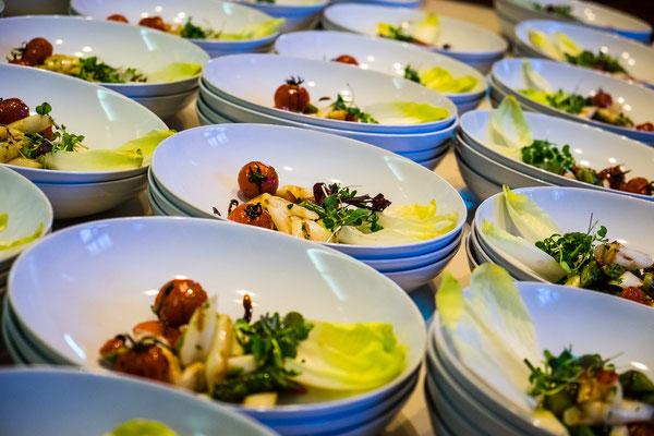 Veganer Salat auf Schloss Beesenstedt Image by Dan Taylor - dan@heisenbergmedia.com