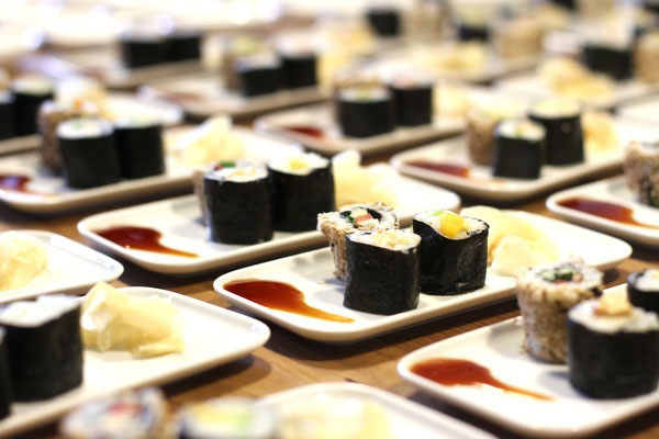 Veganer Sushi