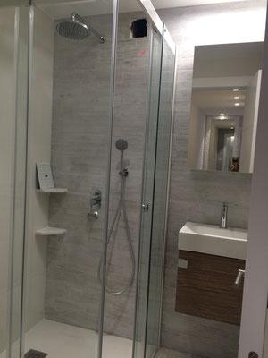 Aseo completo con ducha