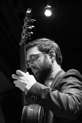 Auf der 38. Zevener Gitarrenwoche 2018, Foto: Leonie Daub