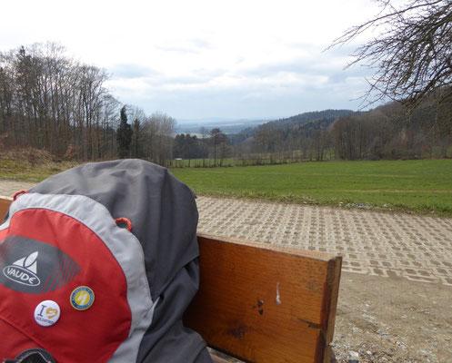 Goldsteigabzeichen mit Panoramablick :-))