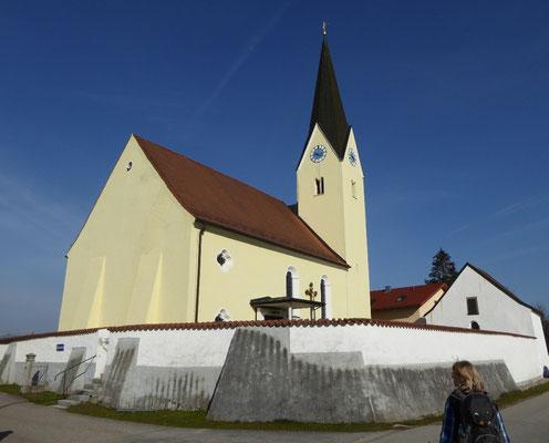Kirche in Mariaposching