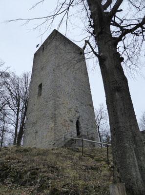 Bergfried auf der Schwarzenburg