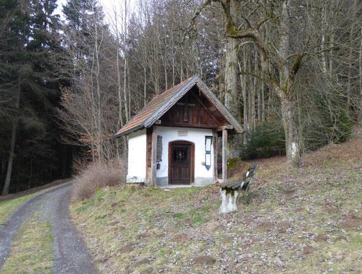 Kapelle kurz vor Denkzell
