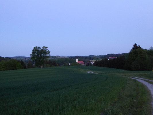 Blick zurück nach Weißenberg