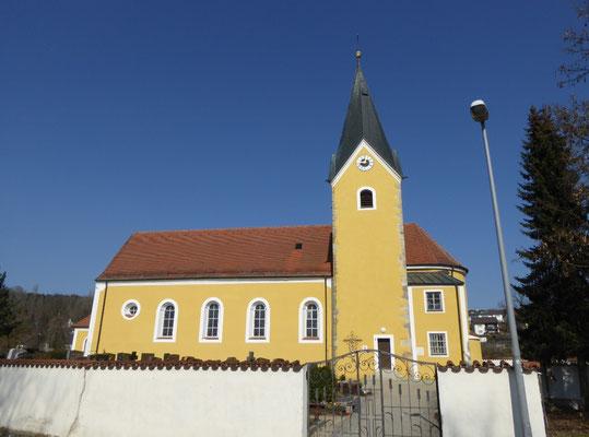 Kirche in Pfelling
