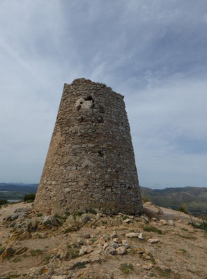 Wachturm auf dem Puig des Telegraf