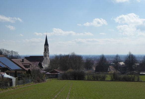 Blick auf Hofdorf