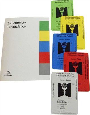 4-Elemente Farbbalancekarten