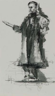 Help, 2010, 40x23cm, Fineliner/Tusche/Papier, P81                       ©Raimund Egbert-Giesen