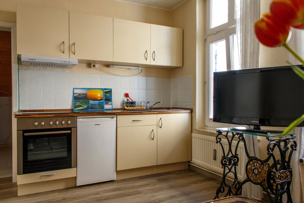 Küche Apartement 4