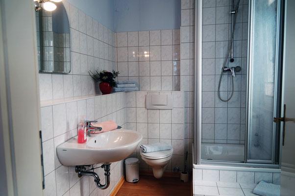 Badezimmer Apartement 1